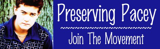 Preserving Pacey -- Join The Movement